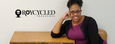 Custom Tissue Paper Breathes Life into Upcycled Furniture, Thanks to Roycycled Treasures!